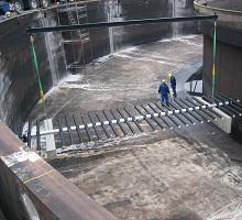 aeration liftable epdm membrane